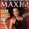 Jessica Alba en couverture de Maxim en octobre 2000