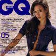Jessica Alba en couverture de GQ en février 2008