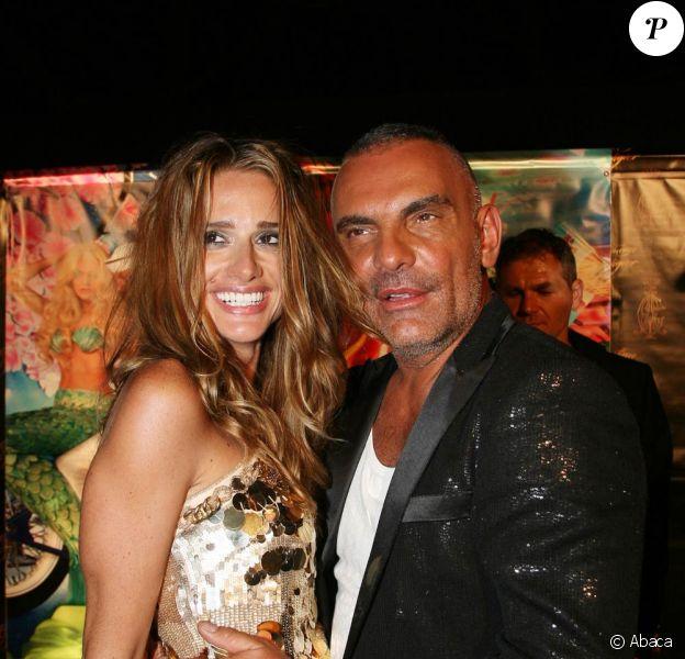 Christian Audigier et sa femme Ira