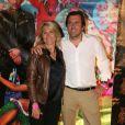 Le publicitaire Christophe Lambert (pas l'acteur) et sa femme Marie Sara, présents pour les 51 ans d'Audigier