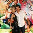 Paris Hilton et son chéri Doug Reinhardt étaient à la soirée organisée au VIP Room de Cannes pour les 51 ans de Christian Audigier