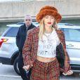 Miley Cyrus à New York, le 10 décembre 2018