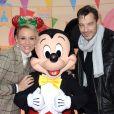 Exclusif - Elodie Gossuin et son mari Bertrand Lacherie - Célébration des 90 ans de Mickey à Disneyand Paris le 17 novembre 2018. La nouvelle saison de Noël célèbrera 90 ans de magie avec Mickey du 10 novembre 2018 au 6 janvier 2019. © Veeren/Bestimage