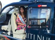Vaimalama Chaves à Tahiti : Look fleuri, vol de rêve... Miss France 2019 s'éclate