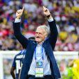 Didier Deschamps - Finale de la Coupe du Monde de Football 2018 en Russie à Moscou, opposant la France à la Croatie (4-2) le 15 juillet 2018 © Moreau-Perusseau / Bestimage