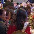 """Vaimalama Chaves, Miss France 2019, et sa maman dans """"Sept à Huit"""" sur TF1. Le 23 décembre 2018."""