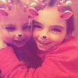 Elodie Gossuin et ses deux paires de jumeaux Jules et Rose (11 ans) et Léonard et Joséphine (5 ans) partent à vacances à La Plagne, en Savoie le jour de Noël, le 25 décembre 2018.