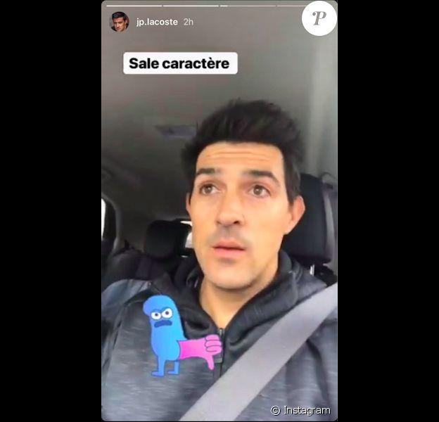 Jean-Pascal Lacoste, au côté de sa chérie Delphine Tellier, pousse un coup de gueule sur Instagram le 31 décembre 2018.