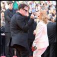 Quentin Tarantino et Mélanie Laurent lors du 62e Festival de Cannes