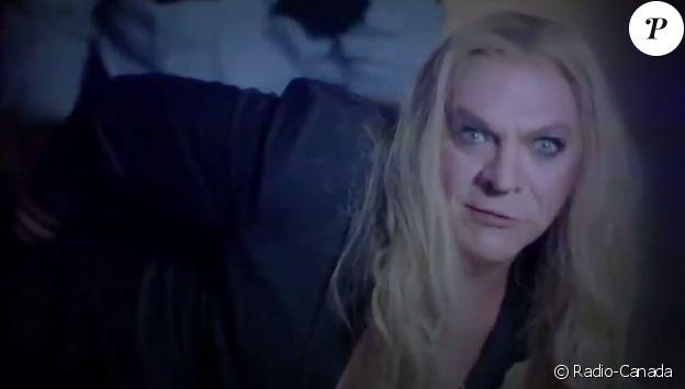 Marc Labrèche parodie Céline Dion dans Bye Bye 2018 sur Radio-Canada, décembre 2018