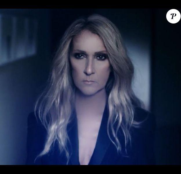 Céline Dion dans la publicité de la campagne Celinununu. Novembre 2018