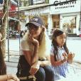 Laeticia Hallyday et ses filles en voyage a Vietnam, janvier 2019.