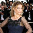 Vahina Giocante, superbe avec des bijoux Chopard, lors de la montée des marches, à Cannes, en mai 2009 !