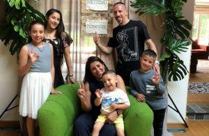 Franck Ribéry : Sa femme Wahiba enceinte de leur cinquième enfant ?