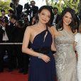 Shu Ki et Asia Argento  lors du 62e Festival de Cannes