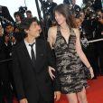 Yvan Attal et Charlotte Gainsbourg lors du 62e Festival de Cannes