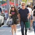 Gordon Ramsay et sa fille dans la rue à Los Angeles le 22 juin 2017.