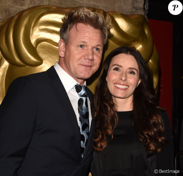 Gordon Ramsay et sa femme Tana Ramsay - Gordon Ramsay à la soirée BAFTA (British Academy Children's Awards) à Roundhouse à Londres, le 20 novembre 2016
