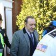 Kevin Spacey quitte le palais de justice à Nantucket, dans le Massachusetts, où l'acteur avait rendez-vous avec un juge qui devait lui signifier son inculpation pour l'agression sexuelle d'un jeune homme de 18 ans en 2016. Nantucket, le 7 janvier 2019.