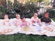 Kim Kardashian : Des sacs Louis Vuitton pour ses filles et ses nièces !