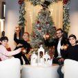 Céline Dion pose en famille pour le 31 décembre 2018