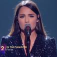 """Florina Perez, candidate à """"Destination Eurovision"""" (France 2), n'a pas été retenue lors de la première demi-finale."""