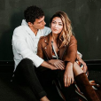 Rachel Legrain-Trapani et son petit ami Benjamin Pavard sur Instagram, en novembre 2018.