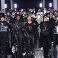 Olivier Rousteing - Défilé de mode Balmain collection Automne-Hiver 2019/20 lors de la fashion week Homme à Paris, le 18 janvier 2019