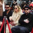 Miles Richie avec sa soeur Nicole Richie et son mari Joel Madden - Lionel Richie laisse ses empreintes sur le ciment lors d'une cérémonie au théâtre chinois à Hollywood, le 7 mars 2018