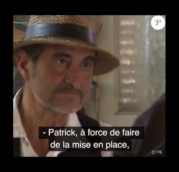 """Patrick dans l'épisode de """"Cauchemar en cuisine"""", lundi 21 janvier 2019, sur M6"""