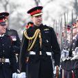 Le prince William participe à la Sovereign's Parade à l'académie militaire royale de Sandhurst le 14 décembre 2018.