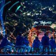 """La troupe des Enfoirés à l'occasion du spectacle """"Musique !"""" joué au Zénith de Starsbourg en janvier 2018."""