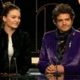 """Matthieu Chedid (M) et sa fille Billie sont invités de Laurent Delahousse dans """"20h30 le dimanche"""", le 27 janvier 2019."""