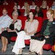 Mary de Danemark assiste à la projection d'un film contre la violence conjugale. 26/05/09