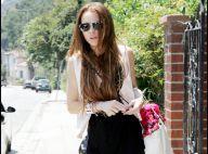 Une Lindsay Lohan maigrissime et effondrée après la nuit qu'elle a passée chez son ex... mais que s'est-il passé ?