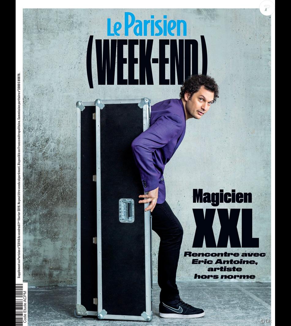 """""""Le Parisien Week-End"""" en kiosques le 1er février 2019."""