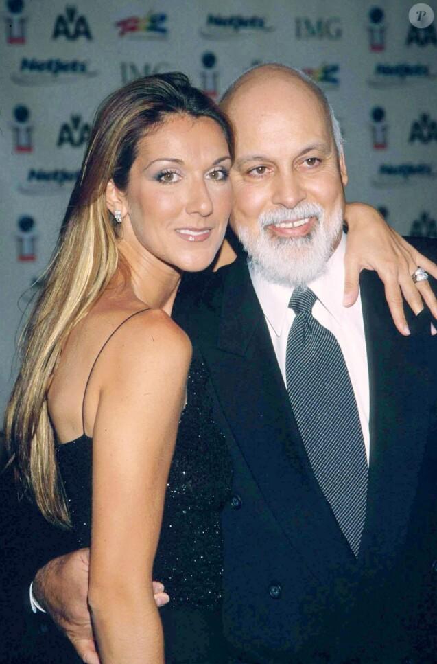 Céline Dion et René Angélil en 2002.