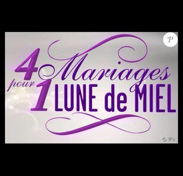 """Logo de """"4 mariages pour une lune de miel"""", TF1"""