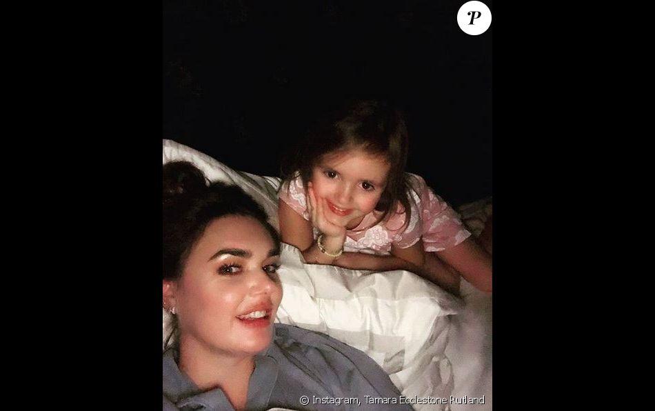 Tamara Ecclestone Rutland et sa fille Sophia.