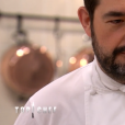 """Jean-François Piège lors du premier épisode de """"Top Chef"""" saison 10, diffusé le 6 février 2019 sur M6."""