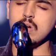 """Ismail dans """"The Voice 8"""" sur TF1, le 16 février 2019."""