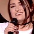 """Louna dans """"The Voice 8"""" sur TF1, le 16 février 2019."""
