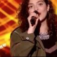 """Ava Baya dans """"The Voice 9"""" sur TF1, le 16 février 2019."""