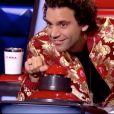 """Mika dans """"The Voice 8"""" sur TF1, le 16 février 2019."""