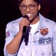 """Antso dans """"The Voice 8"""" sur TF1, le 16 février 2019."""