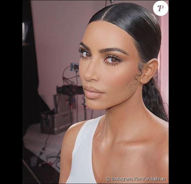 Kim Kardashian. Février 2019.