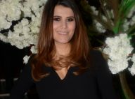 Karine Ferri souriante et mobilisée pour les enfants face à Kendji Girac et Amir