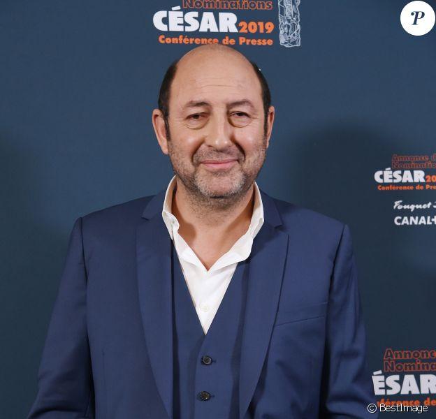 Kad Merad à la conférence de presse de l'annonce des nominations pour la cérémonie des César 2019 au Fouquet's à Paris. Le 23 janvier 2019 © Giancarlo Gorassini / Bestimage