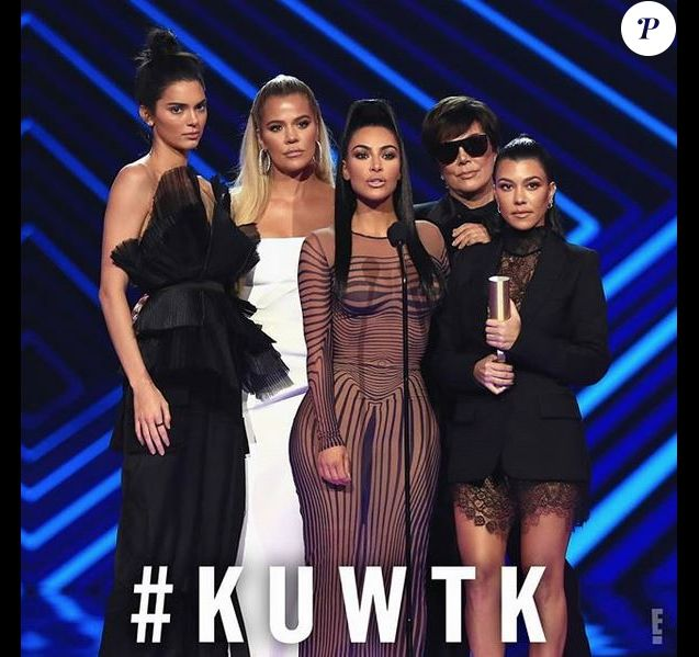 Les Kardashian aux People's Choice Awards. Novembre 2018.