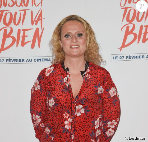 """Aurore Auteuil à l'avant-première de comédie dramatique """"Jusqu'ici tout va bien"""" au cinéma Gaumont-Opéra à Paris, France, le 26 février 2019. © Coadic Guirec/Bestimage"""
